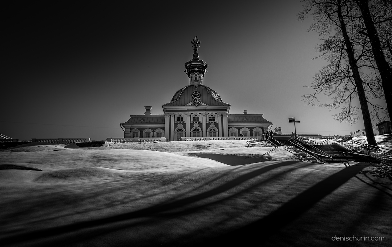 """Peterhof"" black and white photo series by Denis Churin"