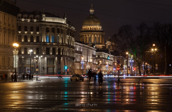 New Year's Saint-Petersburg